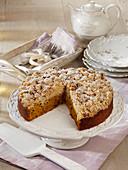 Kürbis-Streuselkuchen