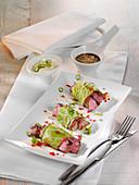 Savoy rump steak parcels