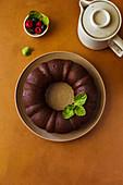 Dark Chocolate Naked Bundt Cake