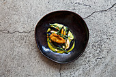 Mussels and Oyster with Samphire