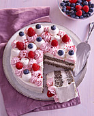 Gluten-free poppy seed cake