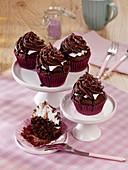 Foam kiss muffins