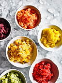 Granita Variety - Mango, Passion Fruit, Watermelon and Green Melon