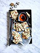 Chinesische Frühlingszwiebel-Pfannkuchen