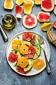 Citrus and avocado salad