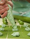 Pipping Fresh Agnolotti Pasta Ricotta Spinach