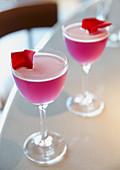 Rose Petal Cocktails