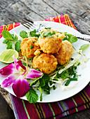 Thai curry rice balls