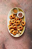 Indian lentil fritters