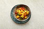 Indisches Kartoffel-Blumenkohl-Curry