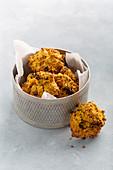 Möhren-Kurkuma-Cookies