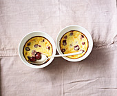 Breakfast bake with cherries