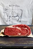 Rib-eye steak (entrecôte)