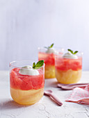 Grapefruit Peach Jellies