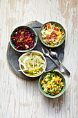 New Style Coleslaw Variations