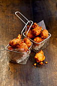 American Hush Puppies - Fried balls made from cornmeal