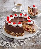 Austrian Torte Malakoff