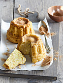 Apple fancy bread with cinnamon
