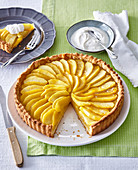 Apple pie with calvados