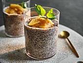 Flaxseed puddings