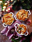 Christmas Pot Luck Pies