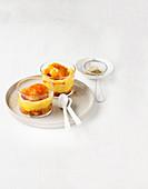 Orange and Polenta Cream