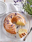 Lavender Bundt Cake