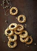 Dutch Christmas cookies (rings)