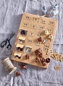 Small chocolate figurines Advent Calendar