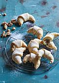 Walnut filled Croissants