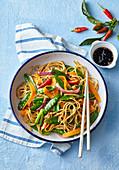 Vietnamese vegetable noodles