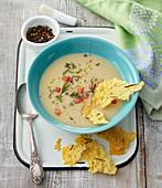 Scallopini squash soup