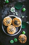 British scones to serve with gooseberry jam