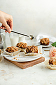Pumpkin Muffins with Maple Syrup Pour