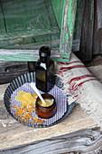 Joint balm with horseradish, arnica, jojoba and beeswax