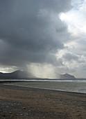 Rain storm on the Lleyn Peninsular, North Wales