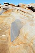 Sandstone rock formation, South Africa