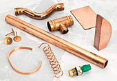 Various uses for copper