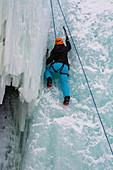 Ice climbing, Sweden