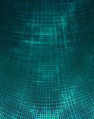 Distorted matrix conceptual illustration.