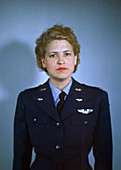 Jacqueline Cochran, US aviator