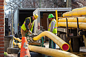 Natural gas mains replacement