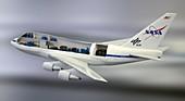 SOFIA airborne observatory model