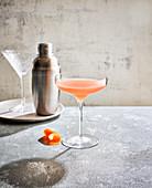 Bronx - Cocktail mit Gin, Wermut und Orangensaft