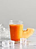 Orange and melon smoothie
