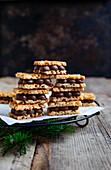 Macadamia Sandwich cookies