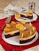 Gingerbread Orange Cake,