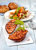 Sweet potatoes with paprika