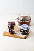 Forest berry tea jam with Earl Gray tea