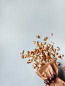 Smoked salted caramel popcorn